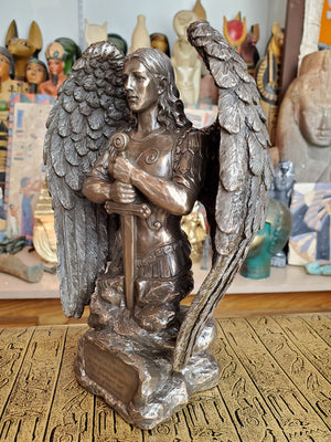 Saint Michael Prayer Monument Statue