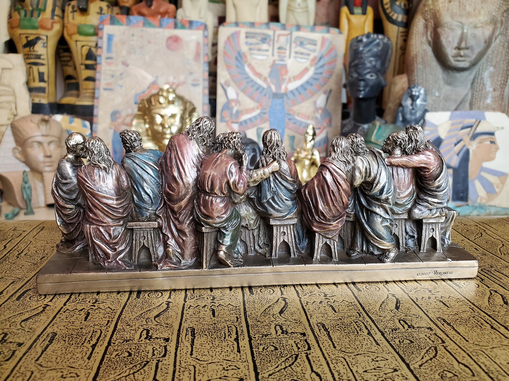Last Supper Bronze Statue Small
