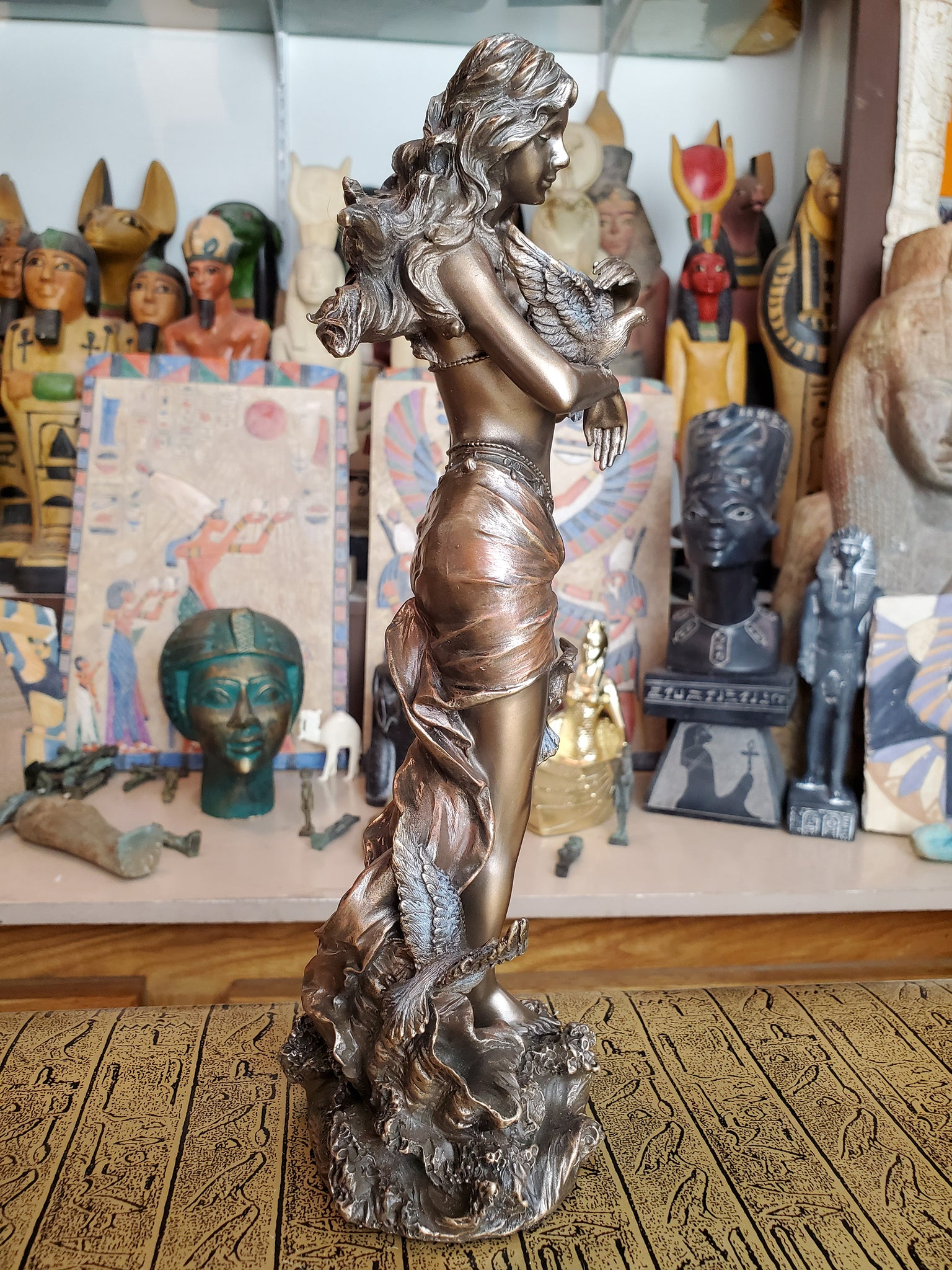 Aphrodite Statue - Ancient Greek Goddess of Love & Beauty Aphrodite - Cold Cast Bronze Statue