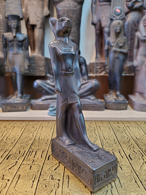 Stone Bastet Statue - Made in Egypt