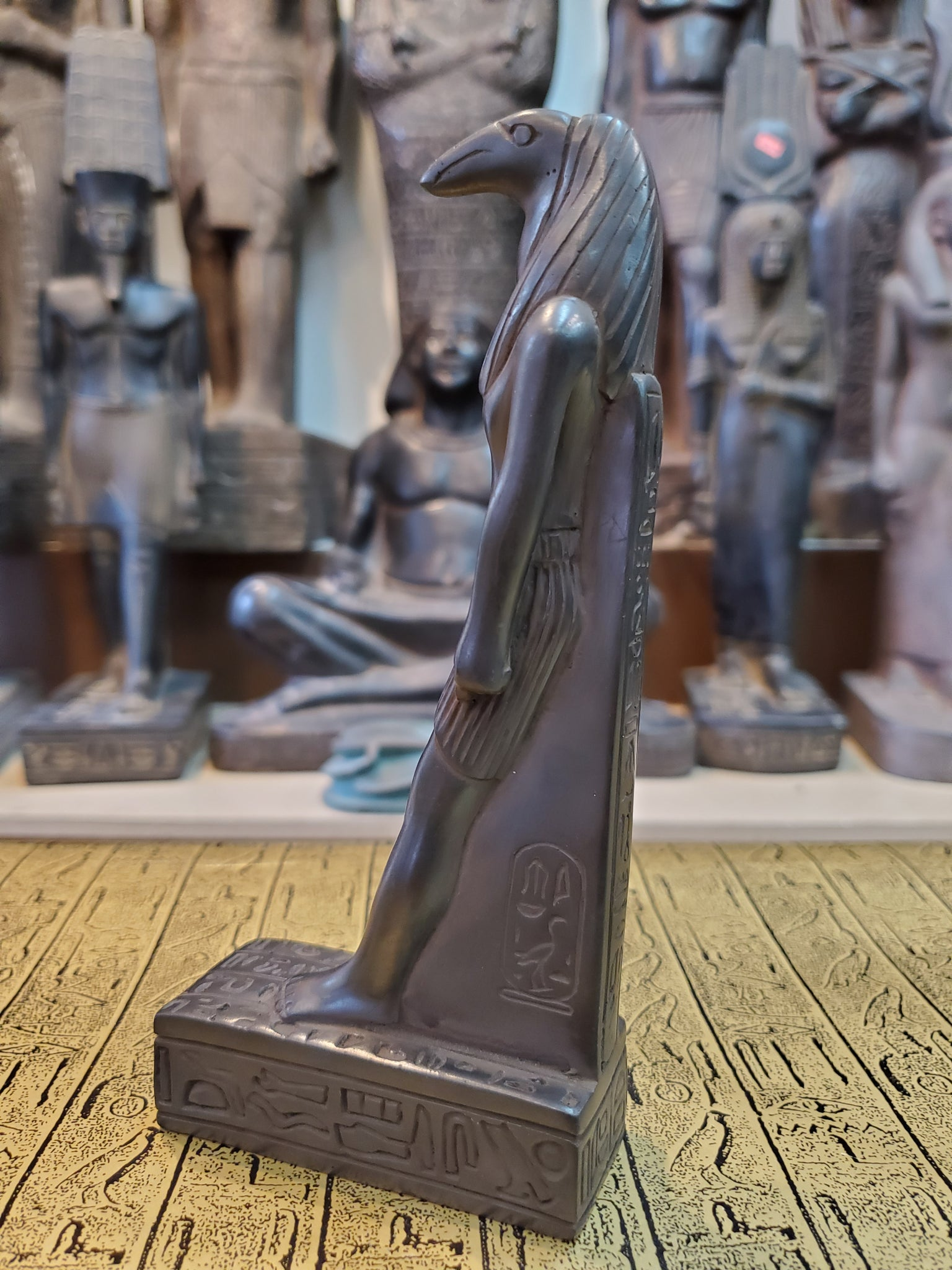 Stone Thoth Statue - Made in Egypt