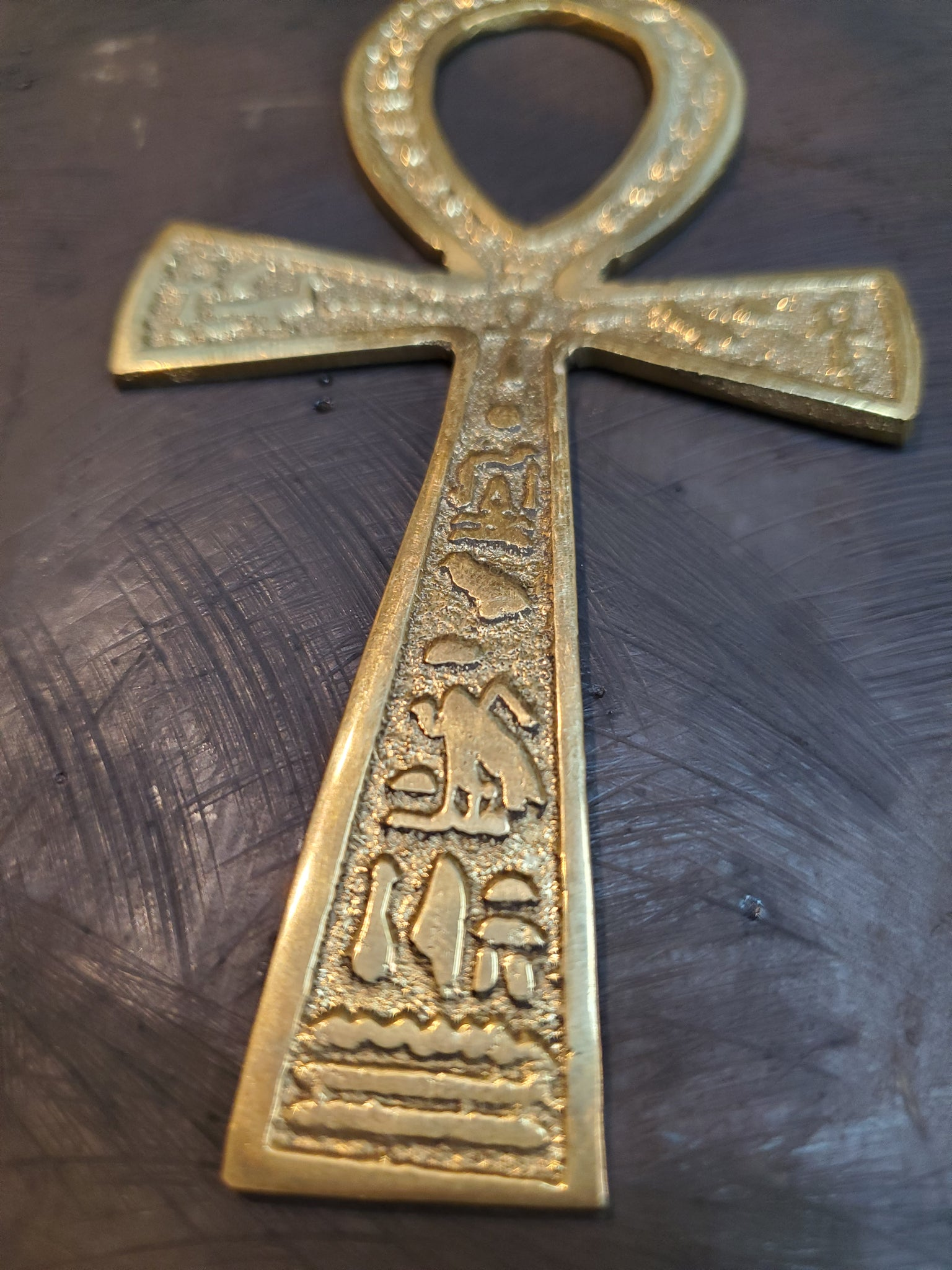 Brass Ankh - Made in Egypt - 14cm / 5.5''