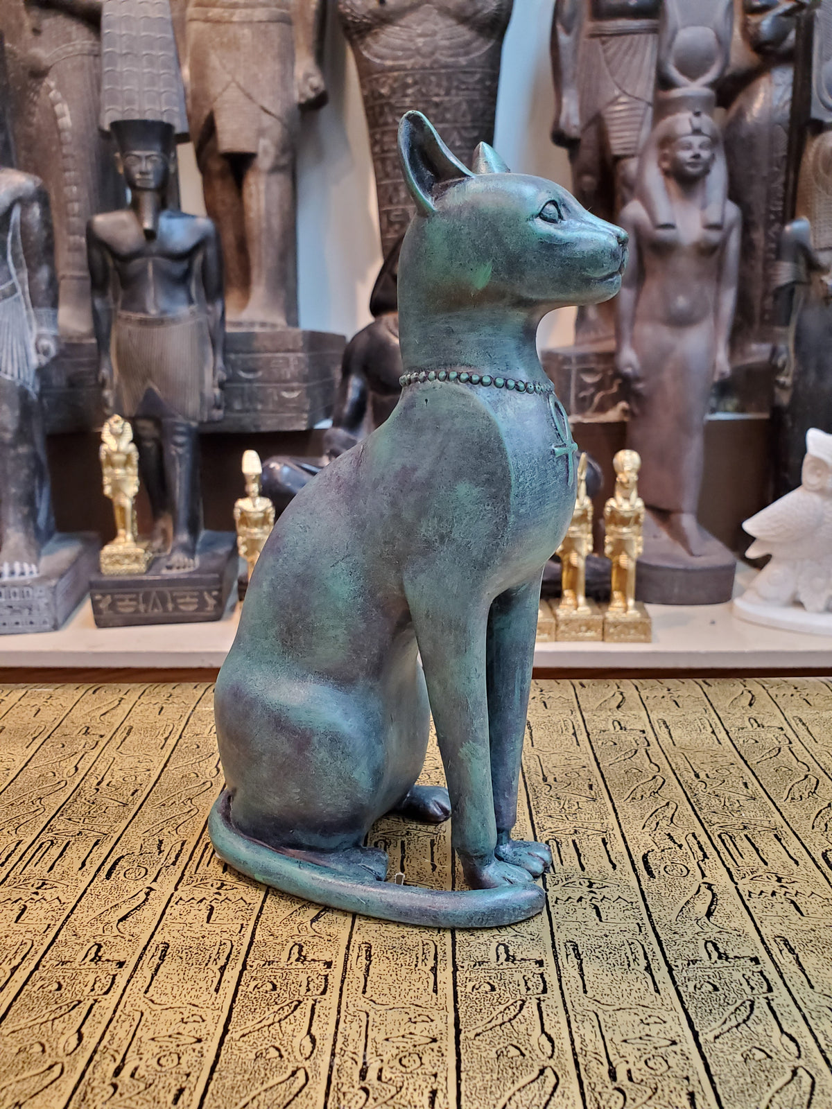 Bastet Statue - Bronze Finish