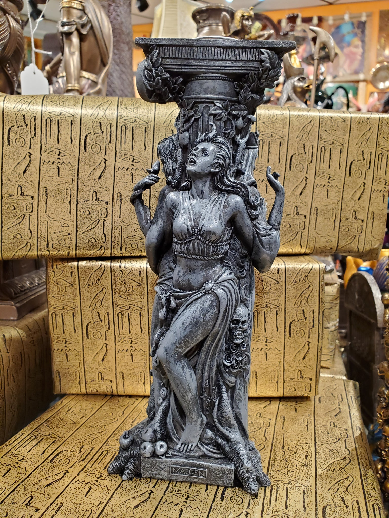 Maiden, Mother & Crone Candleholder