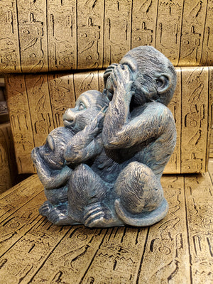 Hear No Evil, Speak No Evil, See No Evil Monkeys