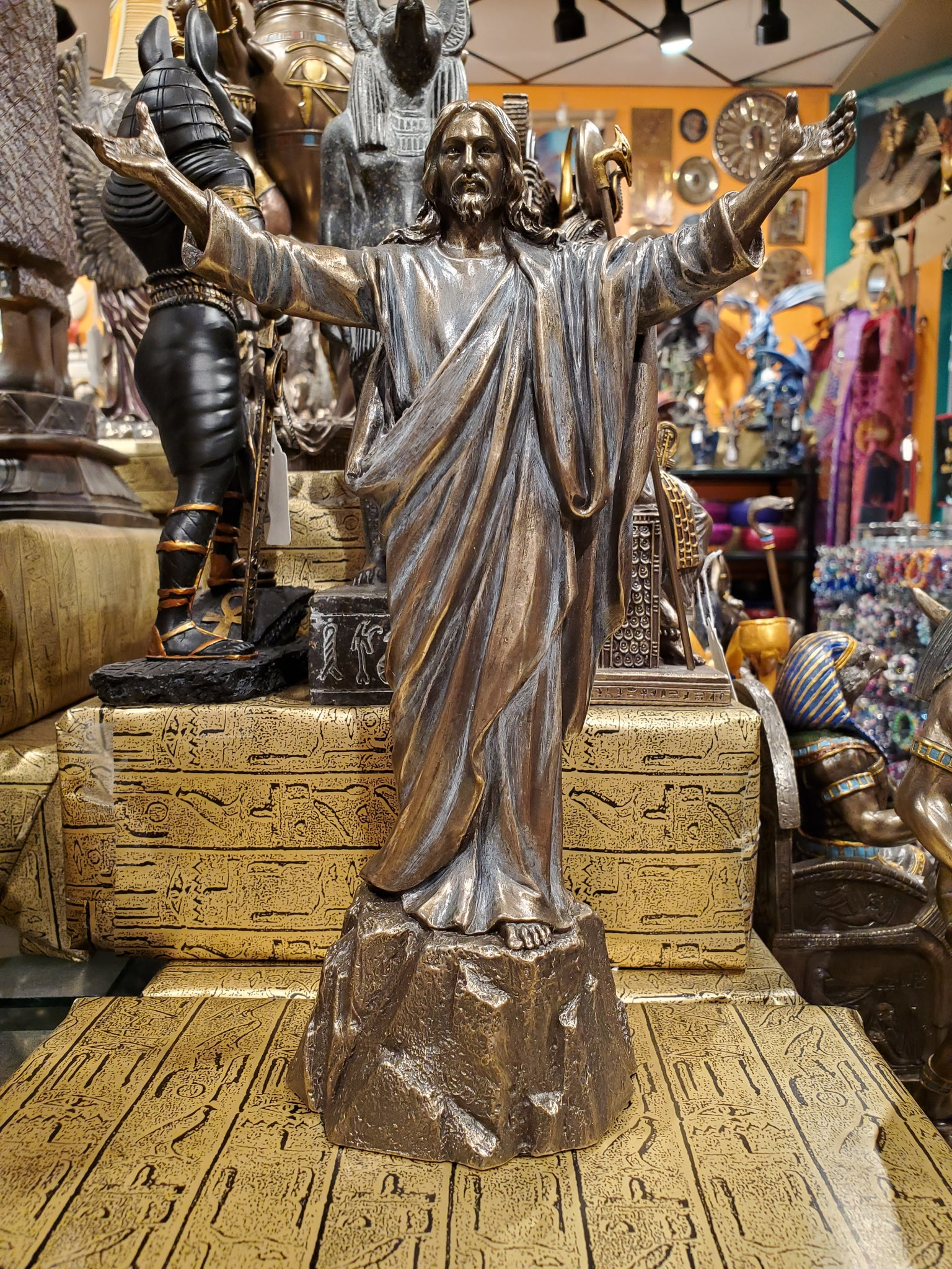 Jesus Christ on Stone Statue