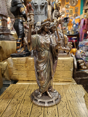 Hecate Greek Goddess of Magic Statue