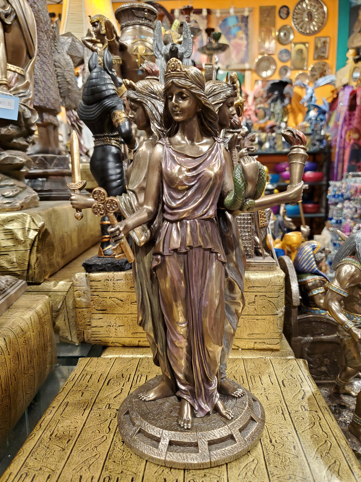 Hecate Greek Goddess of Magic Large Statue