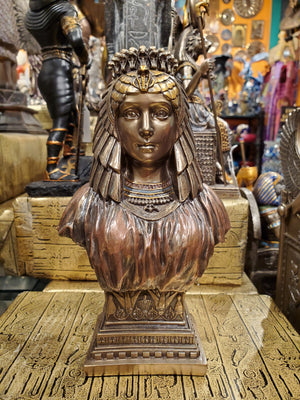Cleopatra Bust - Egyptian Queen Cleopatra in Art Deco style
