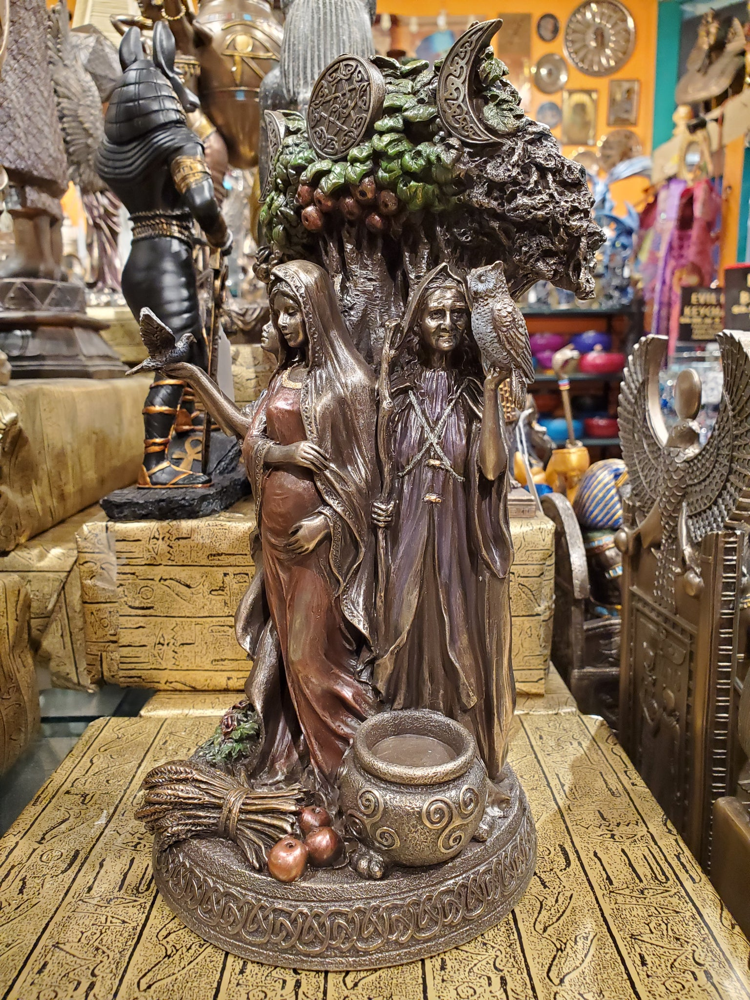 Mother & Crone Statue