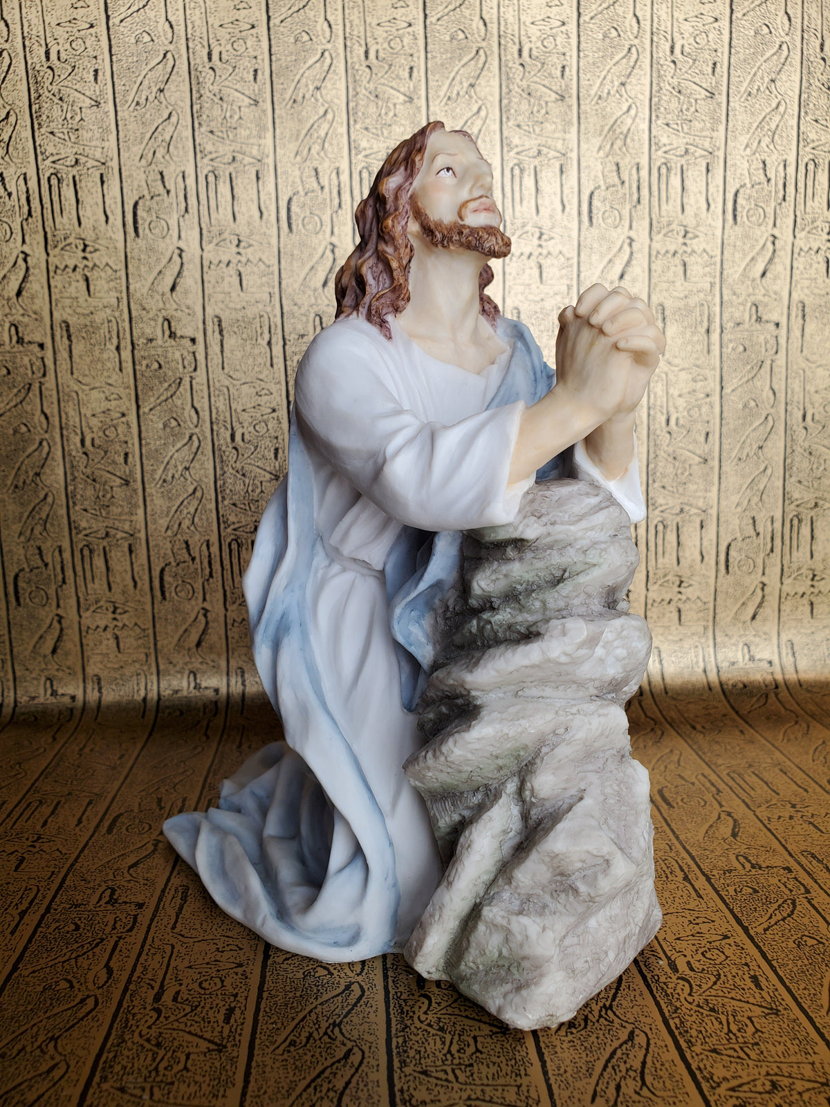 Jesus Christ Praying at Gethsemane Statue