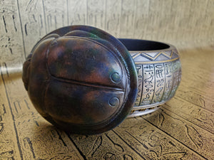 Scarab Trinket Box