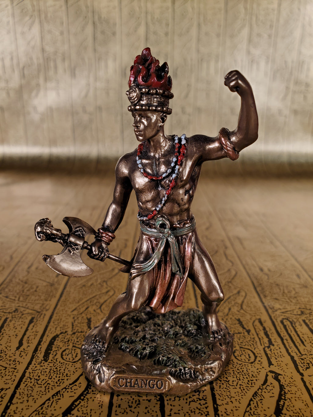 Chango Mini Statue