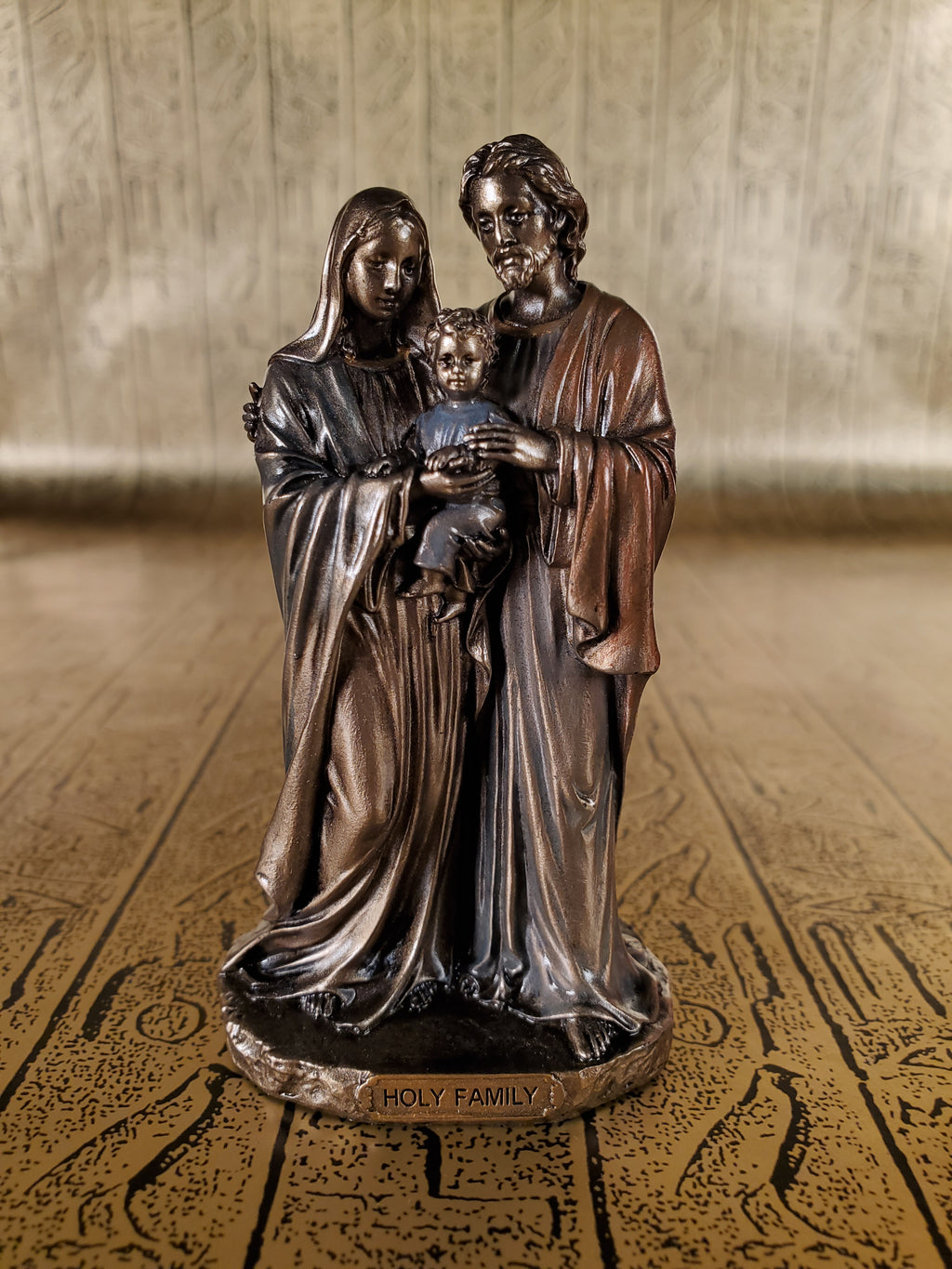 Holy Family Mini Statue