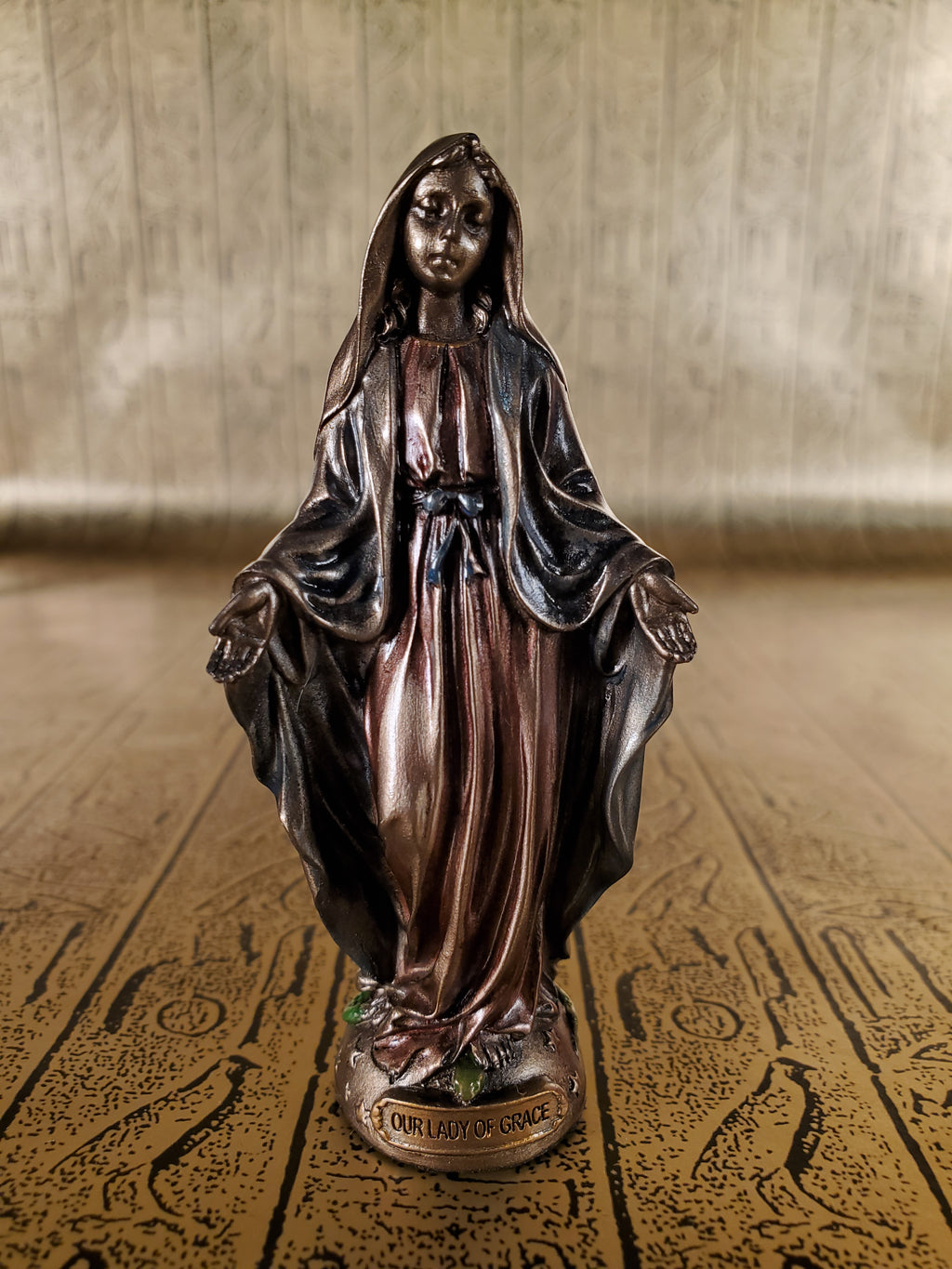Our Lady of Grace Mini Statue