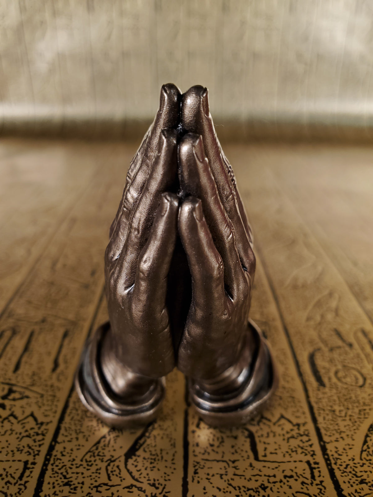 Praying Hands Mini Statue