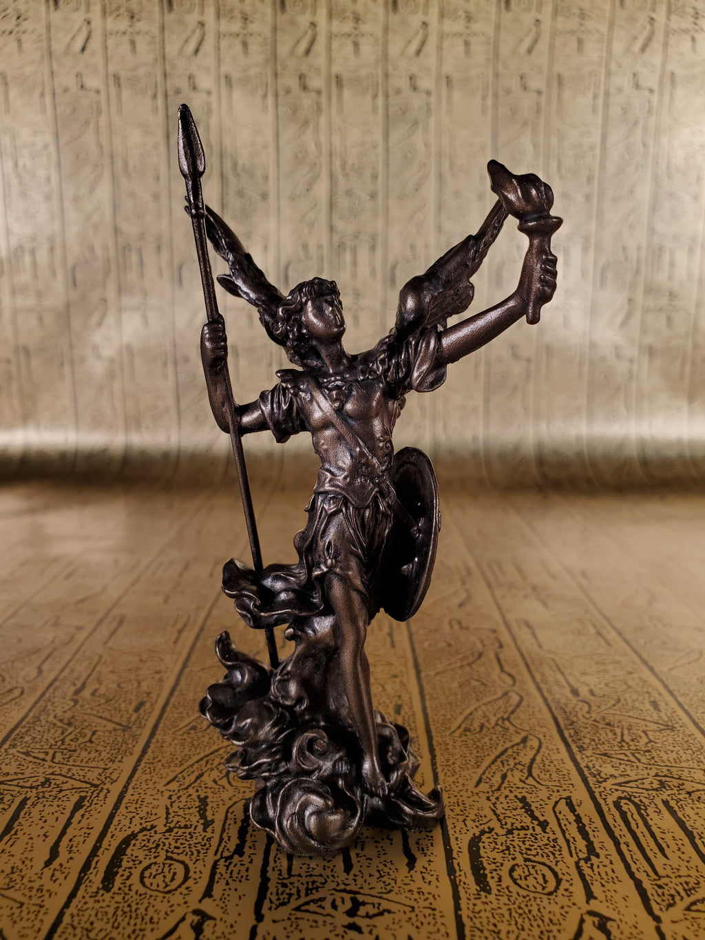 Archangel Uriel Mini Statue