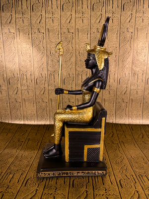Isis in Throne Statue