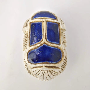 Hand-Carved Scarab Beetle - Made in Egypt