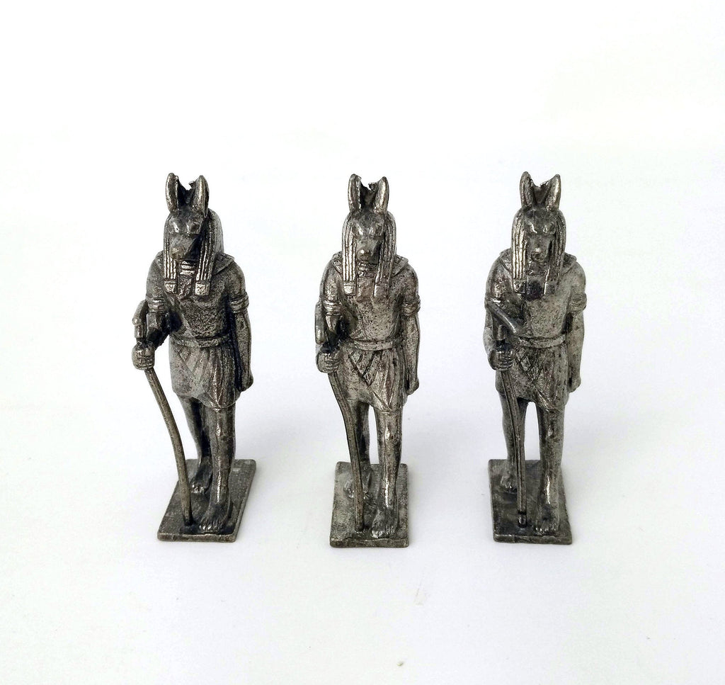 Anubis Mini - Cast Pewter
