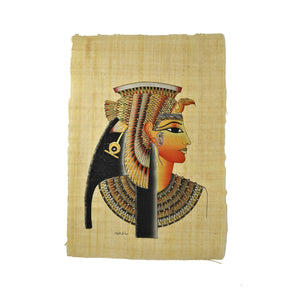 Cleopatra VII Papyrus - Black and Gold