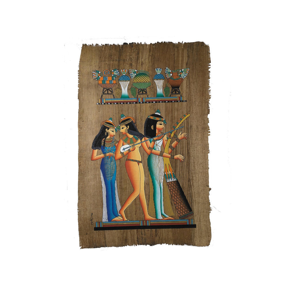 The Music Girls - Antiqued Papyrus - 40x60cm