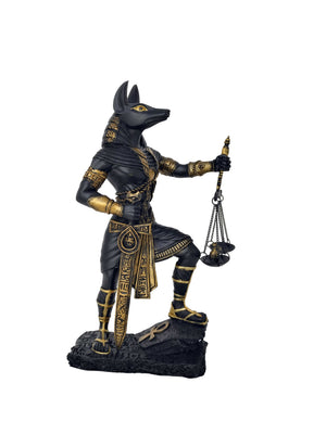 Judgment of Anubis Statue