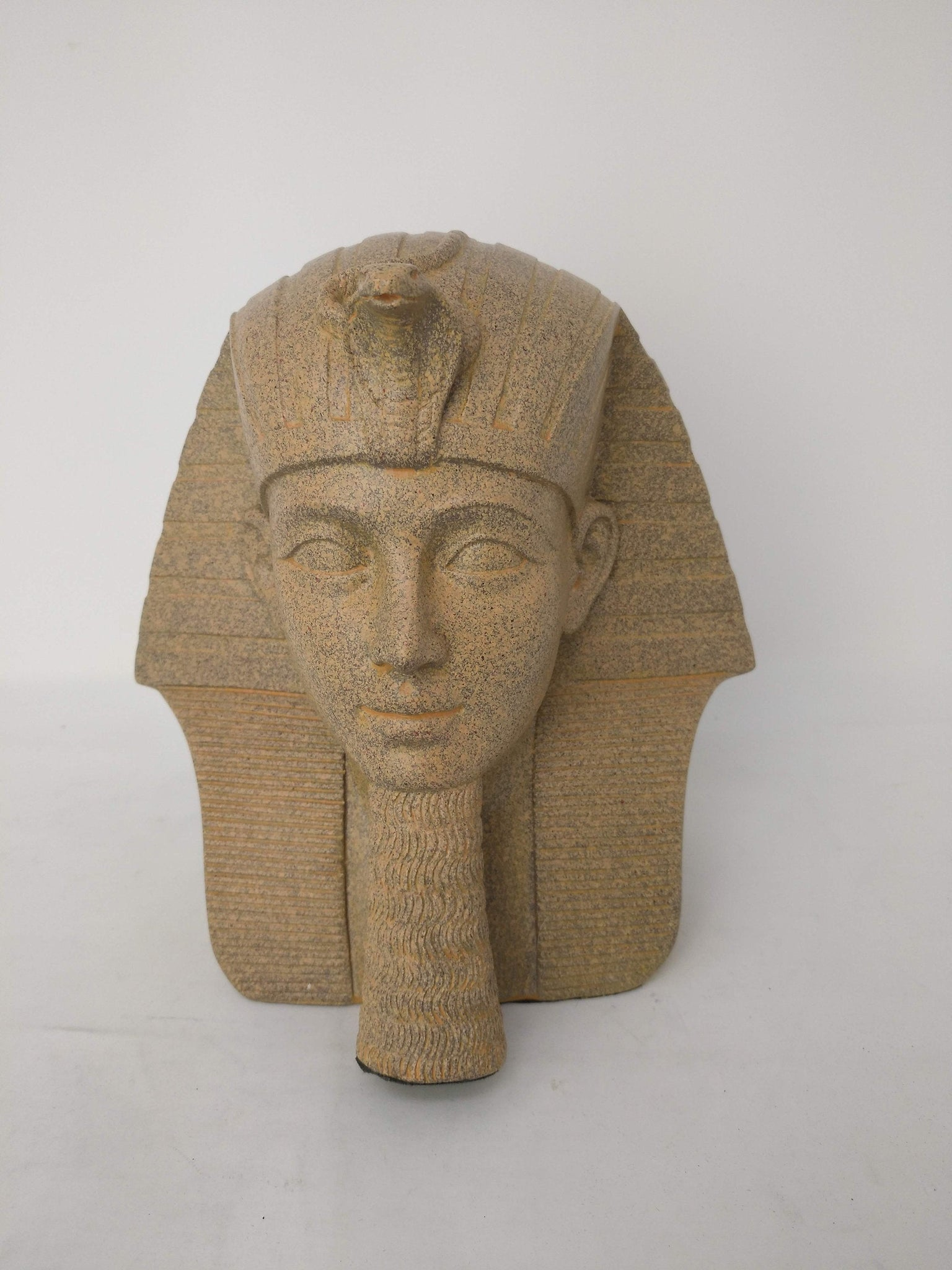 Medium Thutmose III Replica Bust - Museum Replica of Ancient Egyptian King Thutmose III  - 7.5 inches / 19 cm tall!
