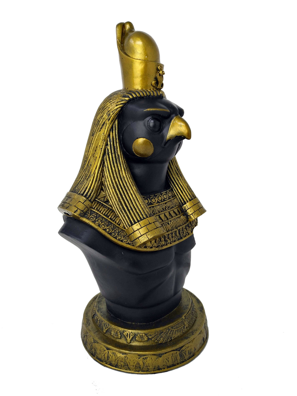 Large Horus Statue Box - Ancient Egyptian God Horus with Statue Trinket Box - Egyptian Home Decor - 10.6 inches / 27cm