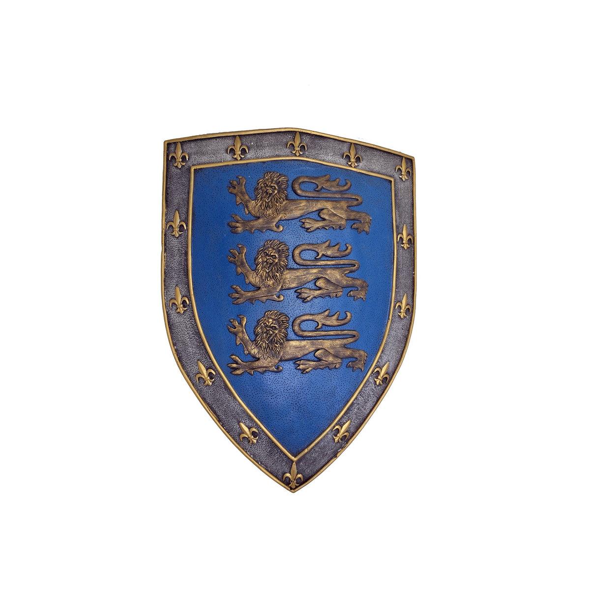 Large Three Lions Sigil Shield Wall Hanging
