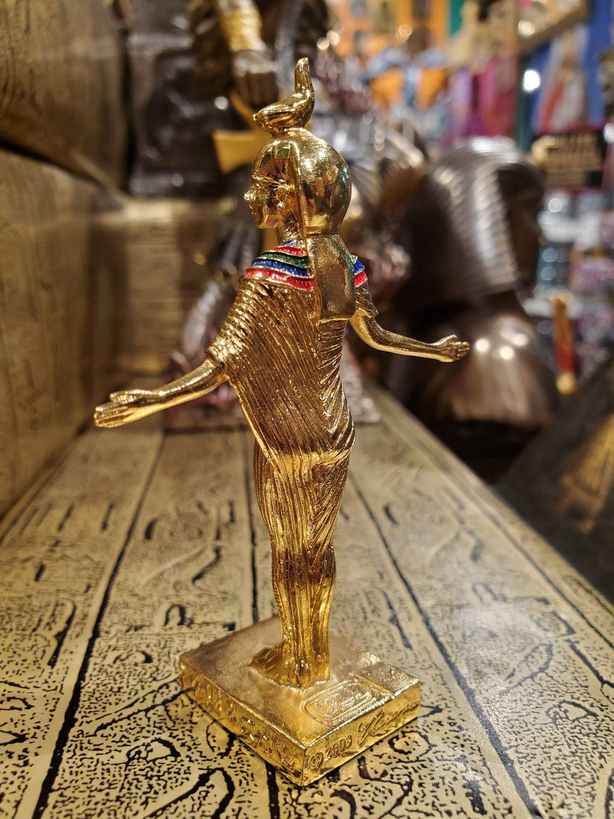 Small Gold Serket Figurine