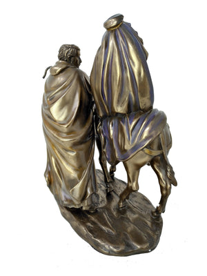 Holy Family Flight Into Egypt Statue