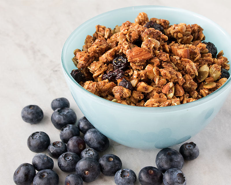 Late Summer Harvest - Blueberry Lemon Granola