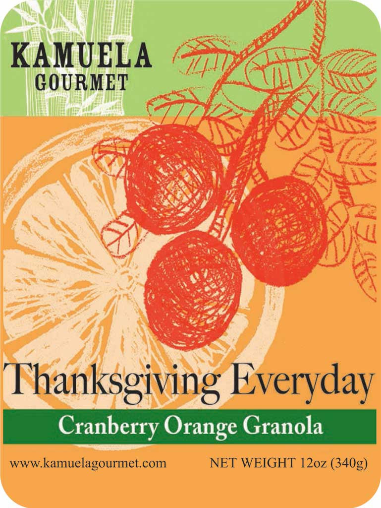 THANKSGIVING EVERYDAY - Cranberry Orange 12oz (340g)