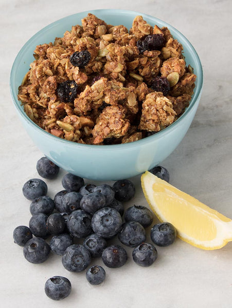 LATE SUMMER HARVEST GRANOLA - Lemon Blueberry 12oz (340g)