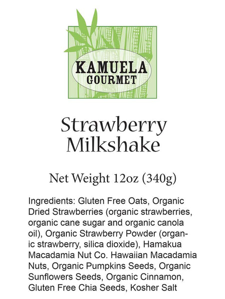 STRAWBERRY MILKSHAKE MUESLI - 12oz (340G)