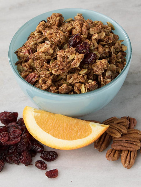 THANKSGIVING EVERYDAY GRANOLA - Cranberry Orange 12oz (340g)