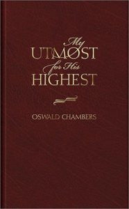 My Utmost for His Highest 0916441822
