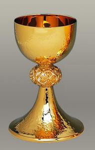 Hand-Hammered Chalice