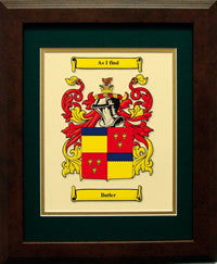 Coat of Arms Framed Print
