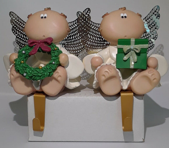 Angel Cheeks Stocking Holder