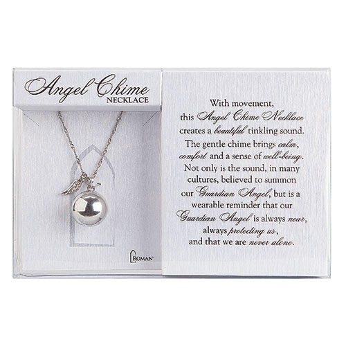 Angel Chime Round Necklace