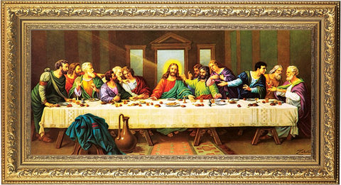 THE LAST SUPPER FRAMED PRINT - ZABATERI