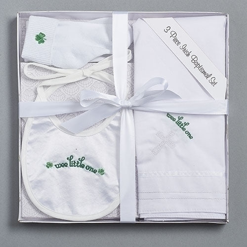 3 Piece Irish Baptism Set