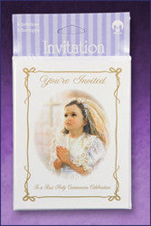 First Communion Invitations - Girl