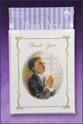 First Communion Thank You Cards - Boy