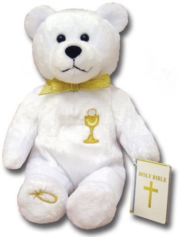 First Communion Holy Bear