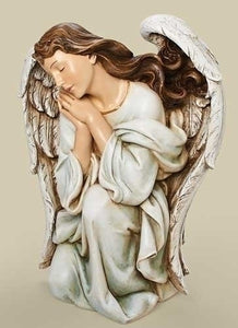 "39"" Scale Color Kneeling Angel"