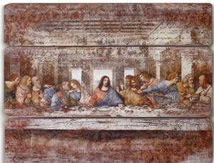 Last Supper Wall Panel