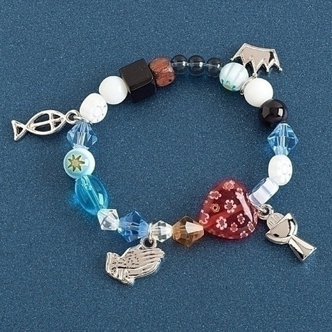 Story Bracelet With Color Beads